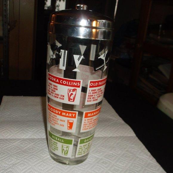 vintage cocktail shaker.